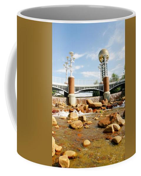 World's Fair Park Coffee Mug featuring the photograph World's Fair Park by Sharon Popek