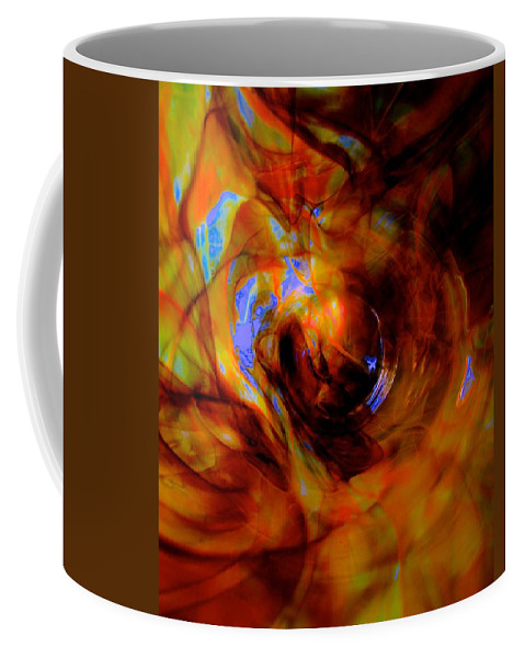 Space Coffee Mug featuring the photograph Wormhole Storm by Tim G Ross