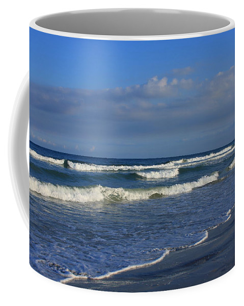 Wrightsville Beach Coffee Mug featuring the photograph Wrightsville Beach by Mountains to the Sea Photo