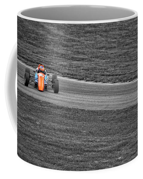 Racing Coffee Mug featuring the photograph Wrong Way by Karol Livote