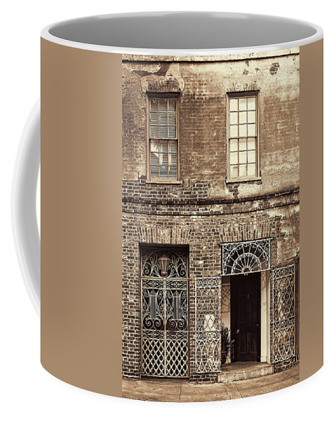 Architecture Coffee Mug featuring the photograph Wrought Iron Gates by Marcia Colelli