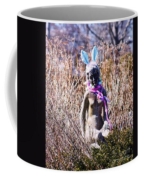 Statue Coffee Mug featuring the photograph W.t.f. by Joe Geraci