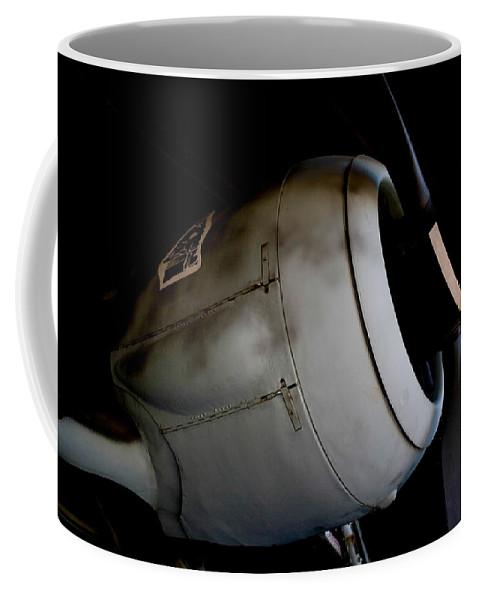 Focke-wulf Fw 190 W�rger Coffee Mug featuring the photograph Wulf by Paul Job