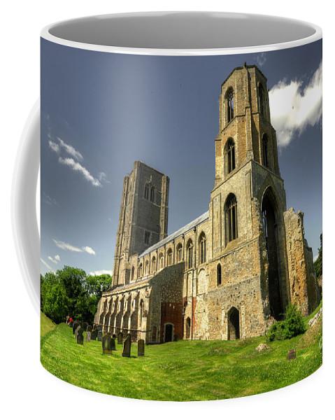 Wymondham Coffee Mug featuring the photograph Wymondham Abbey by Rob Hawkins