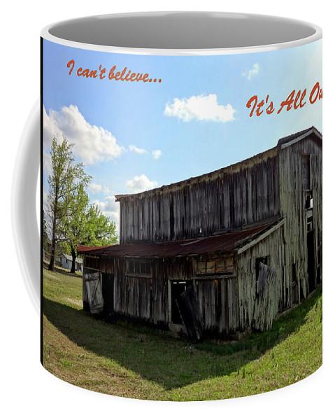 House Coffee Mug featuring the photograph Ye Old Homestead by Deborah Crew-Johnson
