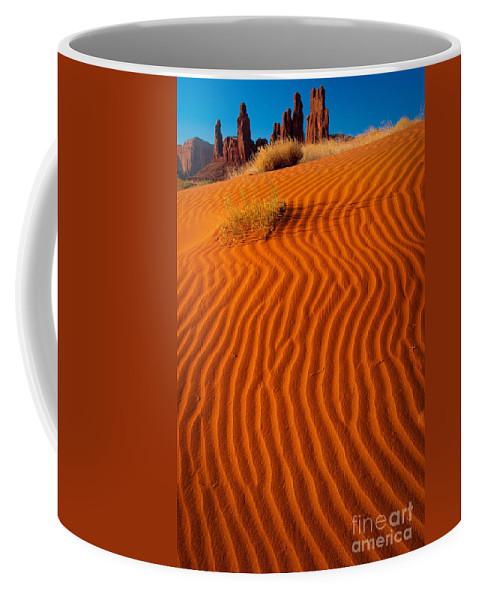 America Coffee Mug featuring the photograph Yei-bi-chai by Inge Johnsson