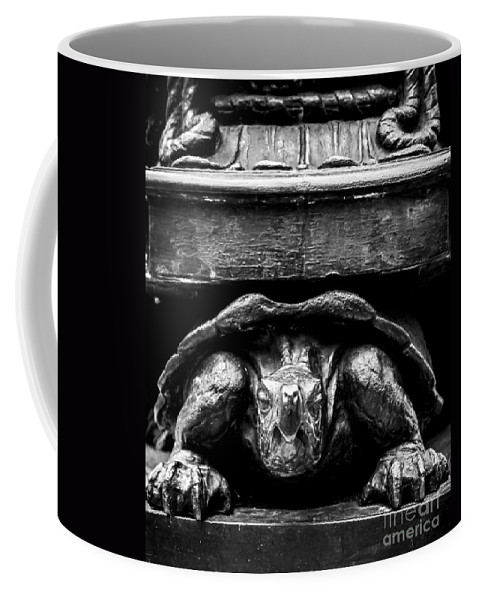 Turtle Coffee Mug featuring the photograph Yertle The Turtle Protagonist by James Aiken