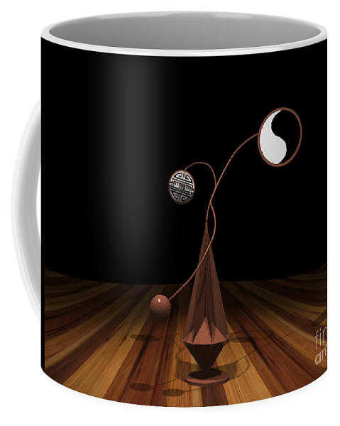 Concept Coffee Mug featuring the photograph Ying And Yang by Peter Piatt