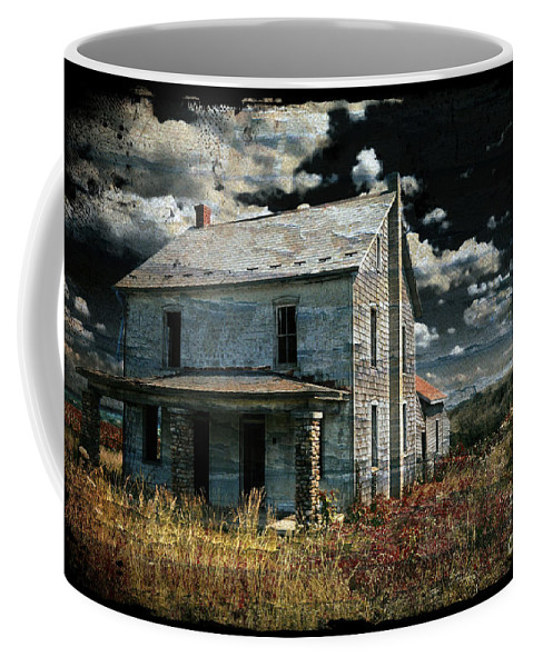 House Coffee Mug featuring the photograph Yoooo Hooooo by Lois Bryan
