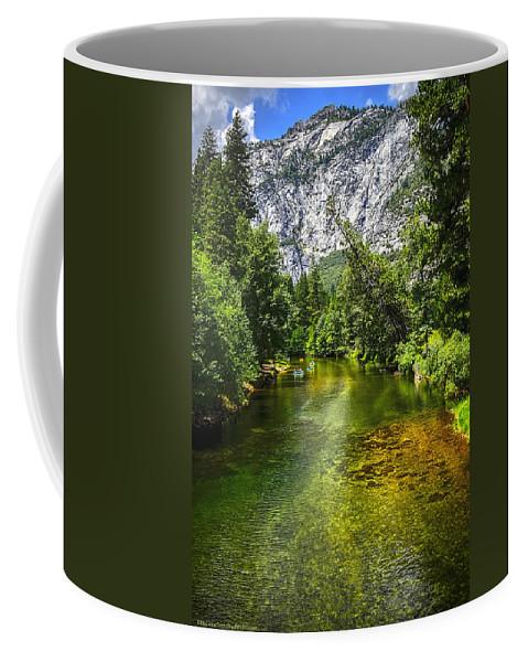 Yosemite Coffee Mug featuring the photograph Yosemite Merced River Rafting by LeeAnn McLaneGoetz McLaneGoetzStudioLLCcom