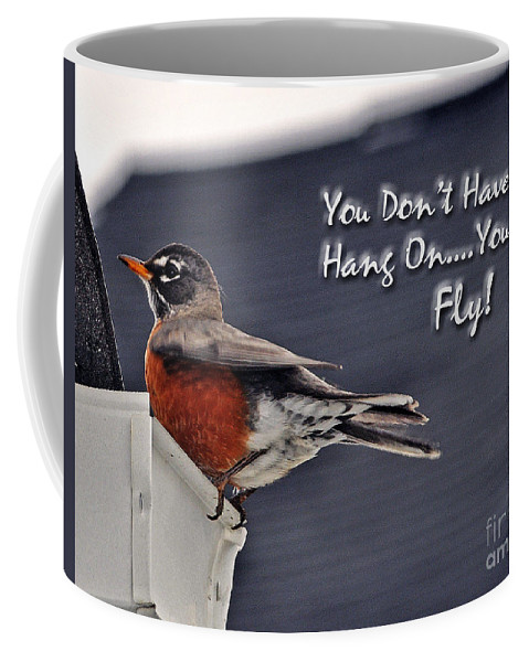 Fly Coffee Mug featuring the photograph You Can Fly by Lydia Holly