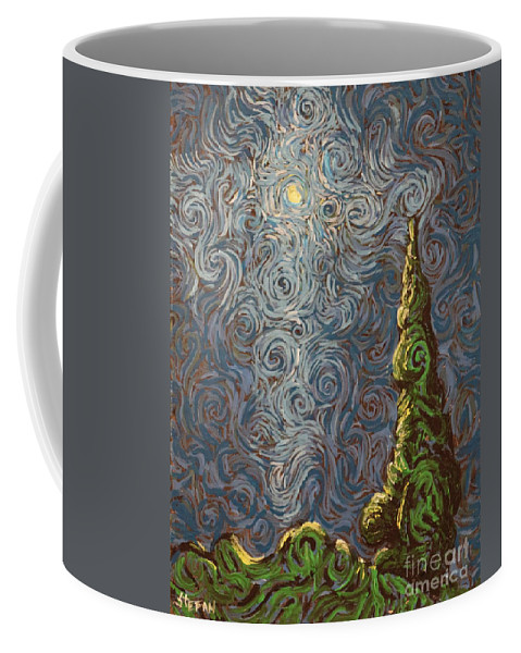 Impressionism Coffee Mug featuring the painting You Illuminate Me by Stefan Duncan