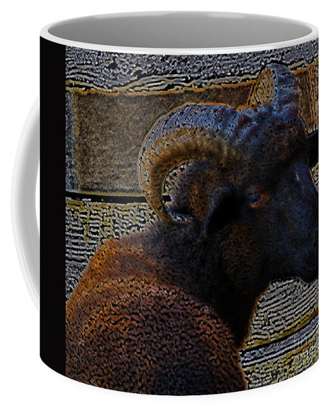 Mixed Media Coffee Mug featuring the photograph You Talkin Bout Me by Patricia Griffin Brett