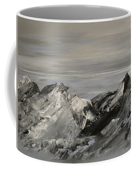 Landscape Coffee Mug featuring the painting Your Majesty by Soraya Silvestri