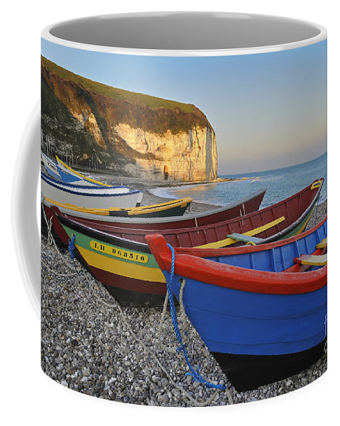 Aval Coffee Mug featuring the photograph Yport 2 by Arterra Picture Library