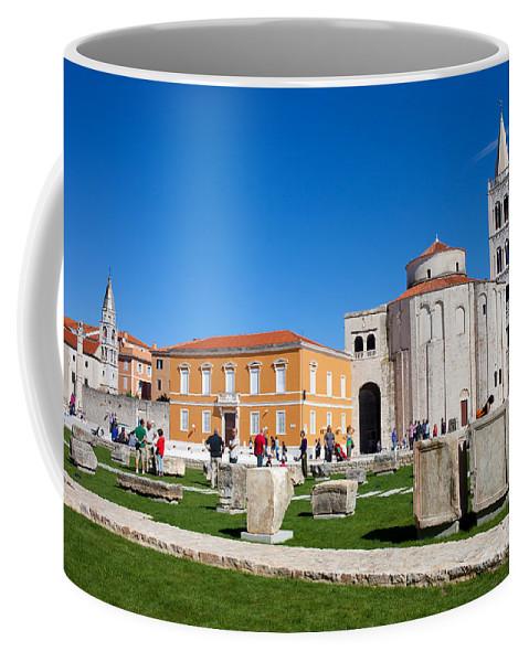 Church Coffee Mug featuring the photograph Zadar Historic Architecture by Artur Bogacki