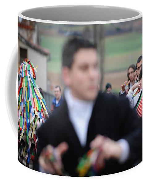 Spain Coffee Mug featuring the photograph Zangarron Mascarade 3 by Rafa Rivas