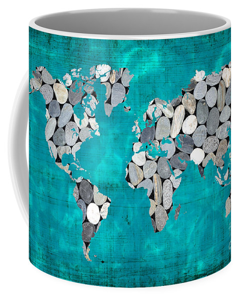 Zen World Map Coffee Mug For Sale By Delphimages Photo Creations