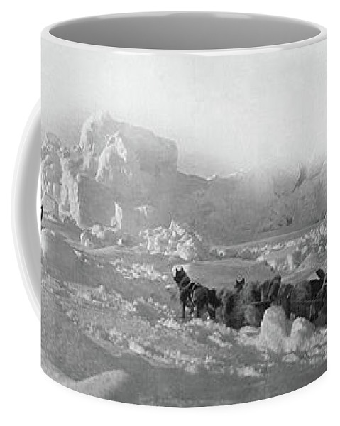 1905 Coffee Mug featuring the photograph Ziegler Polar Expedition by Granger