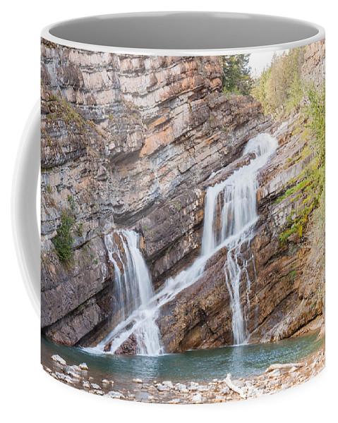 Cameron Falls Coffee Mug featuring the photograph Zigzag Waterfall by John M Bailey