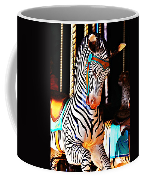 Zebra Coffee Mug featuring the photograph Zoo Animals 3 by Marty Koch