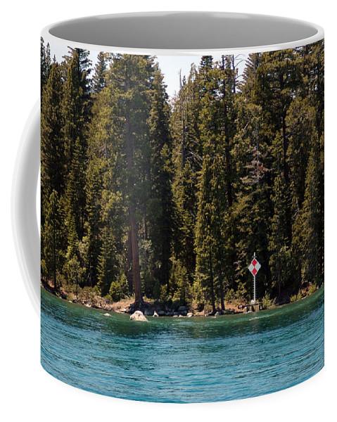 Usa Coffee Mug featuring the photograph Lake Tahoe Sugar Pine Point Light by LeeAnn McLaneGoetz McLaneGoetzStudioLLCcom