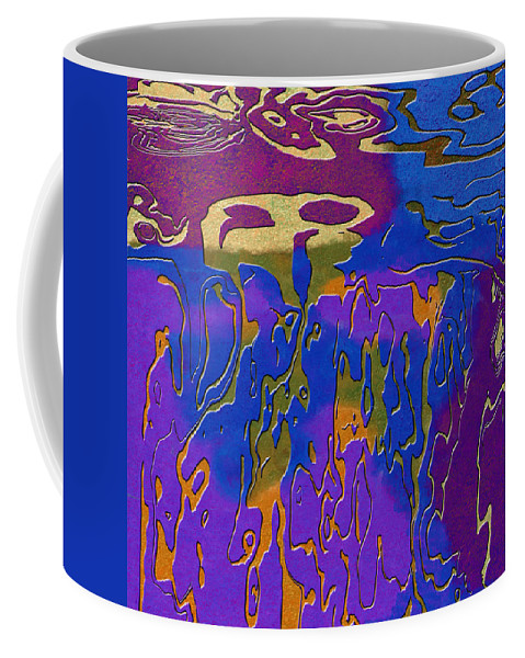 Abstract Coffee Mug featuring the digital art 0527 Abstract Thought by Chowdary V Arikatla