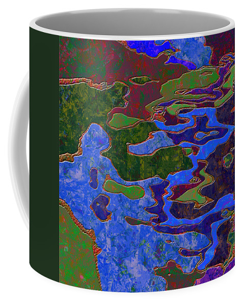 Abstract Coffee Mug featuring the digital art 0681 Abstract Thought by Chowdary V Arikatla