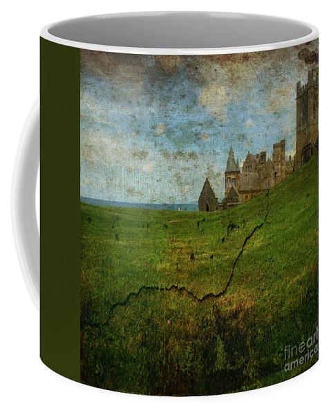 Aberystwyth Coffee Mug featuring the photograph Aberystwyth by Angel Ciesniarska