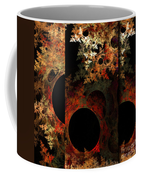 Fractal Digital Art Coffee Mug featuring the photograph Abstract 174 by Mike Nellums
