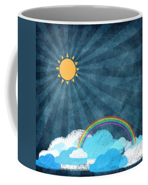 Art Coffee Mug featuring the photograph After Rainy by Setsiri Silapasuwanchai