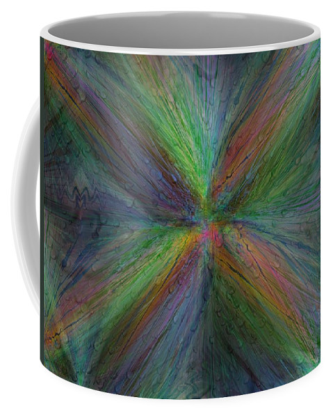 Abstract Coffee Mug featuring the digital art After The Rain 3 by Tim Allen