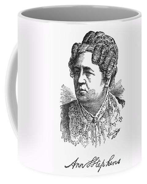 19th Century Coffee Mug featuring the photograph Ann Sophia Stephens by Granger