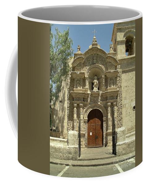 Arequipa Coffee Mug featuring the digital art Arequipa Peru by Carol Ailles