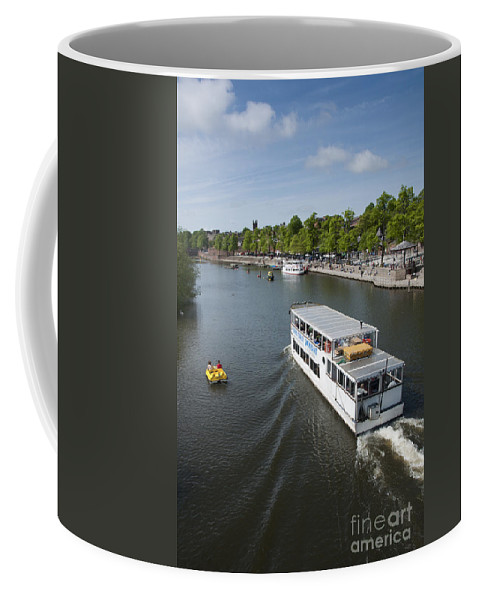 2011 Coffee Mug featuring the photograph Boats On River Dee by Andrew Michael