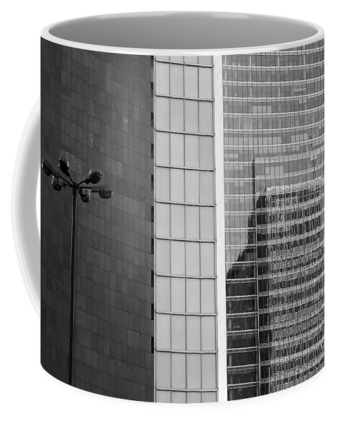 Cityscape Coffee Mug featuring the photograph Business Center by Dariusz Gudowicz