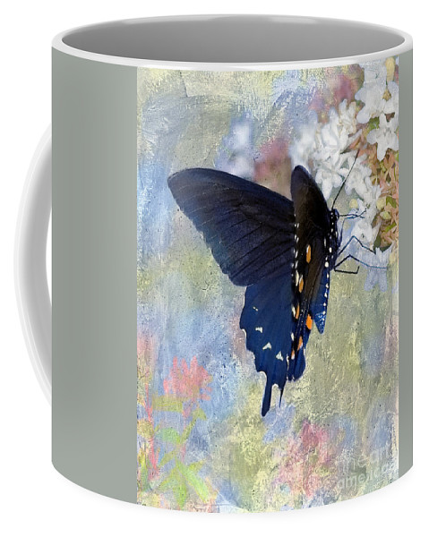 Pipevine Swallowtail Coffee Mug featuring the photograph Butterfly Love by Betty LaRue
