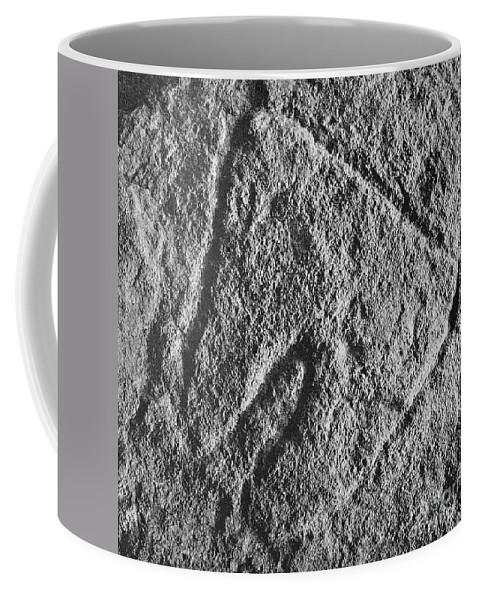 Art Coffee Mug featuring the photograph Cave Art: Vulva by Granger