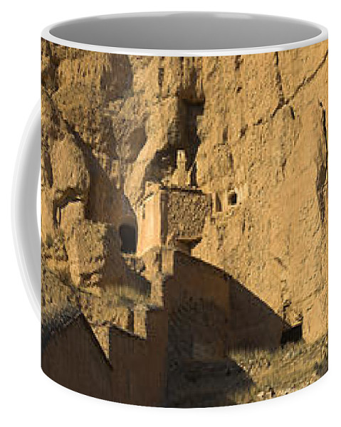 Coffee Mug featuring the photograph Cave Dwellings by Guido Montanes Castillo