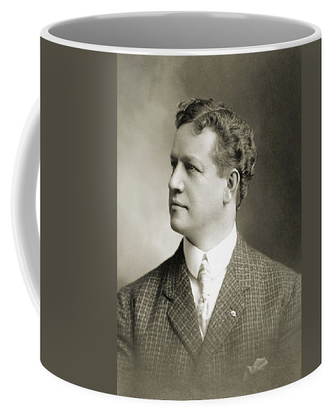 1900 Coffee Mug featuring the photograph Charles H. Ebbets (1859-1925) by Granger