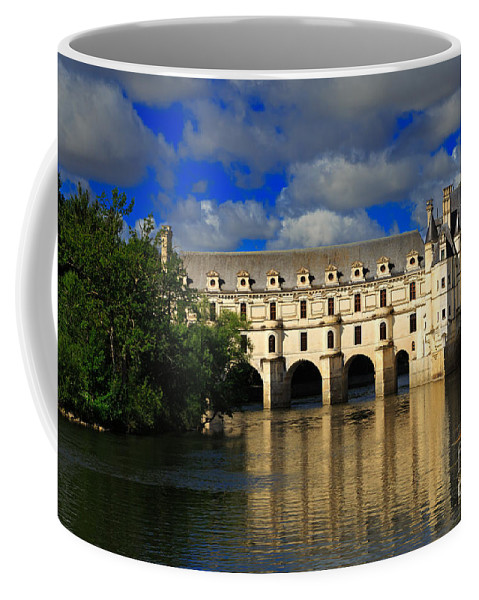 Chateau Coffee Mug featuring the photograph Chateau Chenonceau by Louise Heusinkveld