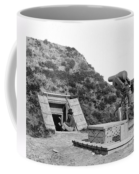 1865 Coffee Mug featuring the photograph Civil War: Drewrys Bluff by Granger