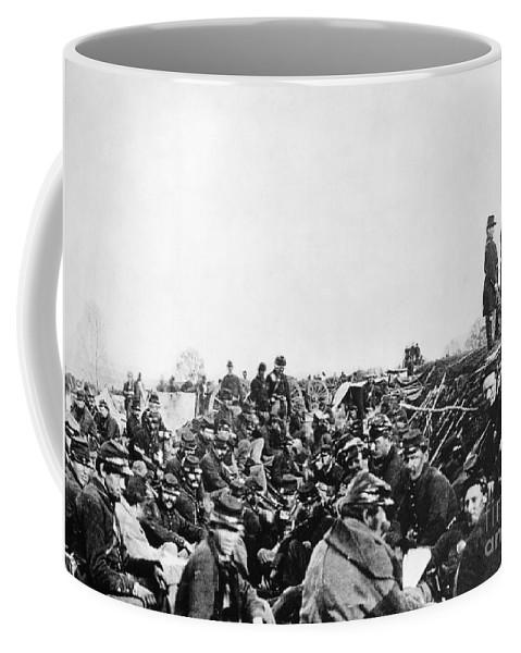 1864 Coffee Mug featuring the photograph Civil War: Petersburg, 1864 by Granger