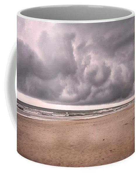 Topsail Coffee Mug featuring the photograph Coastal Storm by Betsy Knapp