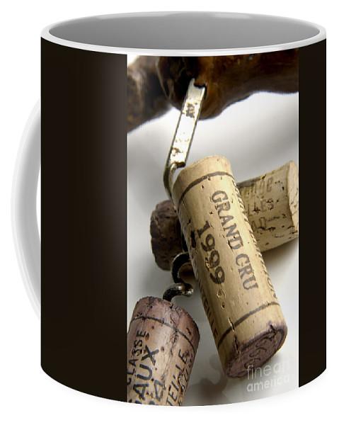 Cork Coffee Mug featuring the photograph Corks Of French Wine by Bernard Jaubert