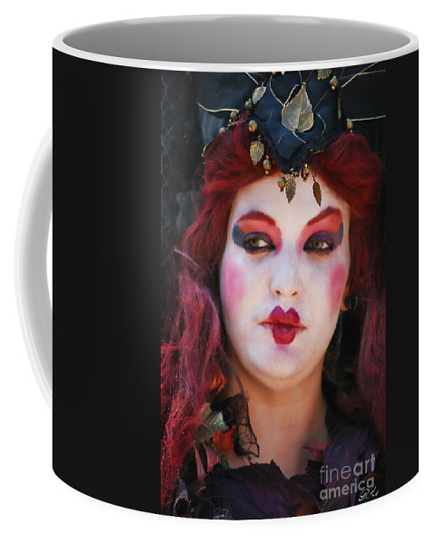 Witch Coffee Mug featuring the photograph Dark Fall by Diego Re
