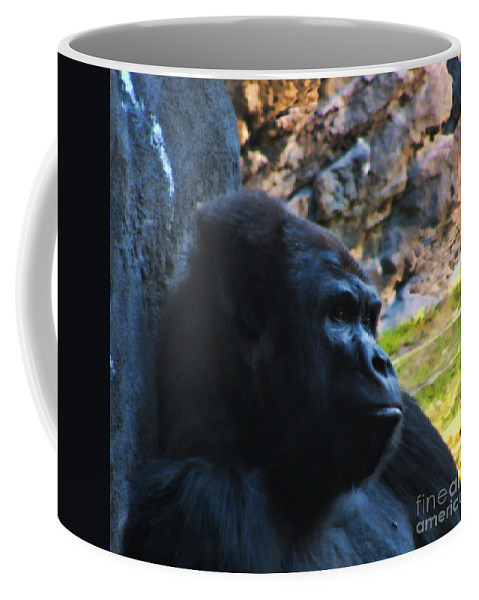 Gorilla Coffee Mug featuring the photograph Day Dreaming by Tommy Anderson