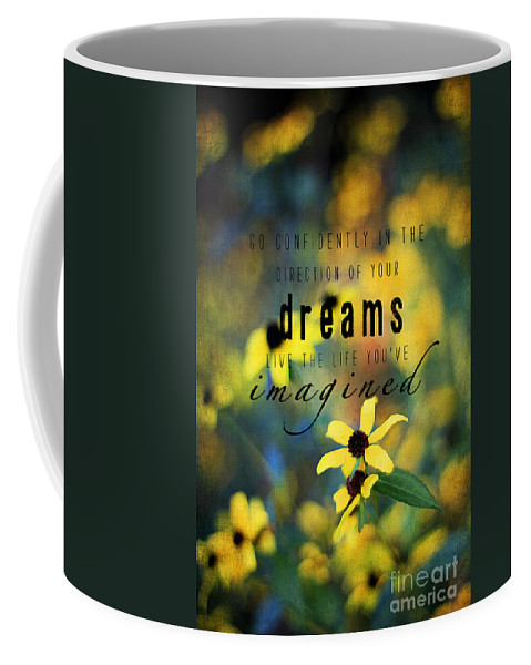 Aster Coffee Mug featuring the photograph Dreams by Darren Fisher