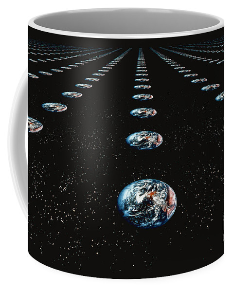 Horizontal Coffee Mug featuring the photograph Earth Pattern by Stocktrek Images