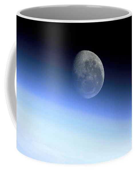 Color Image Coffee Mug featuring the photograph Earths Limb by Stocktrek Images